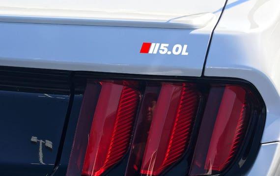 5.4L MOTORSPORT Hood Decal Emblem SVT Ford F150 GT Logo Mustang Coyote V8 Red