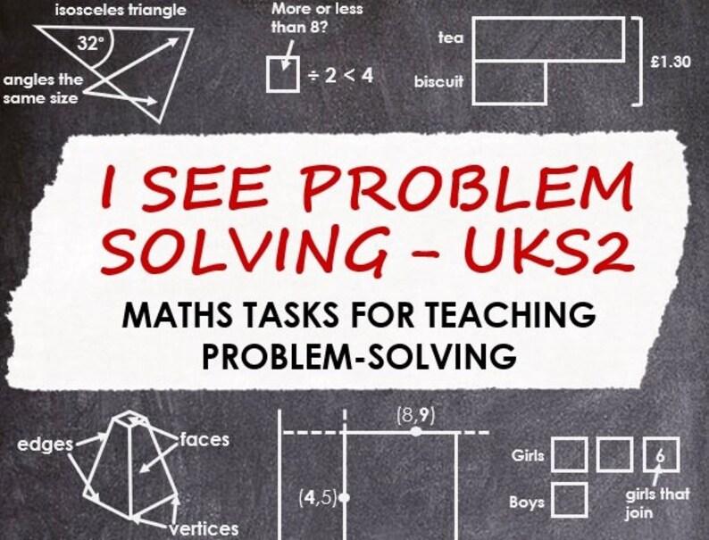 I See Problem-Solving  UKS2 image 0