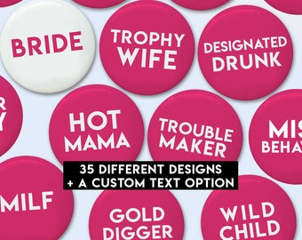 """Bachelorette Buttons 