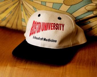 1651c39afcc Vintage Boston University School Of Medicine Hat