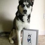 Custom Illustration | fuhglyduckling, personal painting, pet portrait, family portrait, profile picture, personalized gift, wedding portrait
