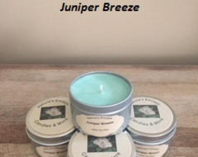 Juniper Breeze Soy Wax 6 oz. Candle Tins