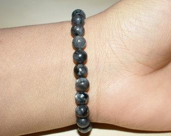 4mm Labradorite Bracelet Bracelet for Men Meditation Bracelet Gemstone Bracelet Bracelet for Women Healing Crystal Bracelet