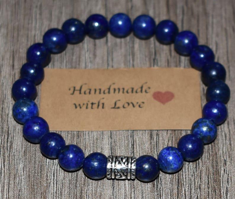 Unisex Lapi Lazuli Bracelet Homme Mens Bracelet Men Bracelets for Women Lapis Lazuli Bracelet Lapis Bracelet Lapi Bracelet Femme