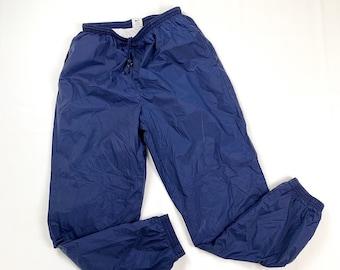 041ae242efea Vintage 90s Nike Navy Blue Joggers Style Track Pants   Men s Size XL