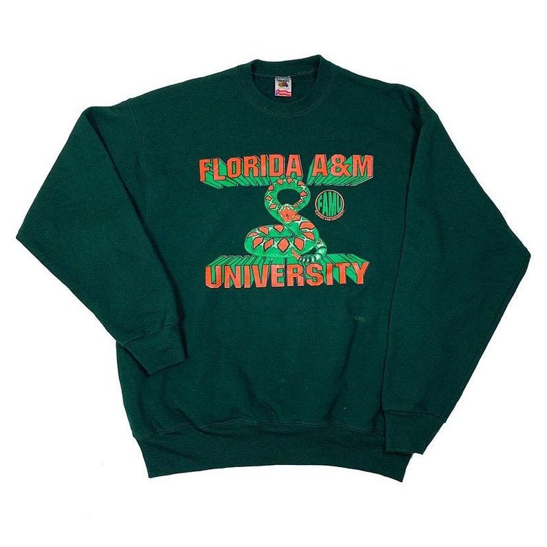 Green amp;m Vintage Size Men's A Crewneck Sweatshirt University 90s Florida Xxl xdCthrBsQ