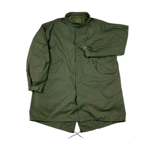 RARE 1984 US Army M65 Extreme Cold Fishtail Parka