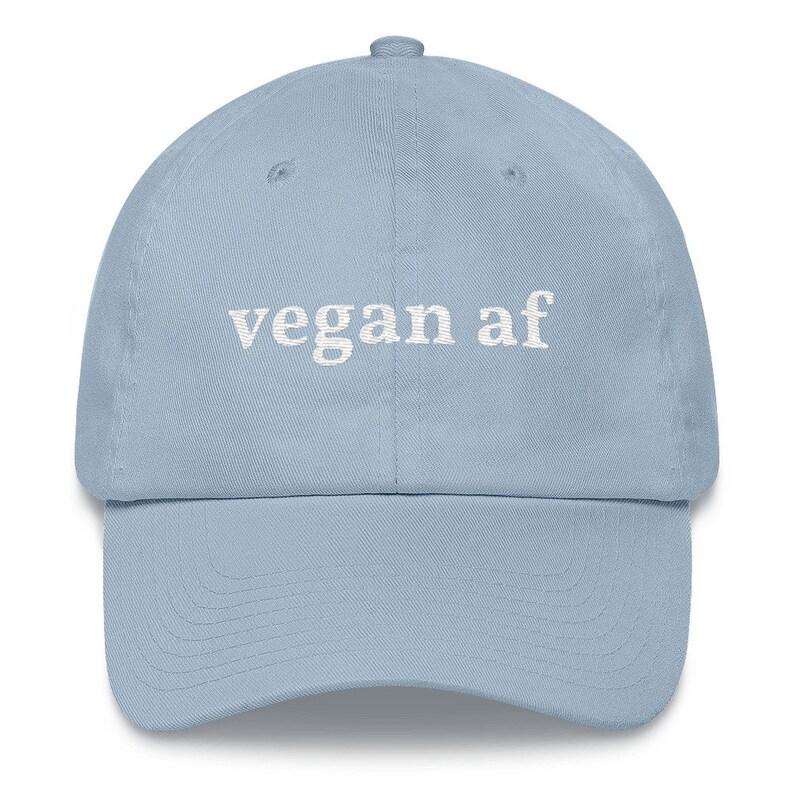 Vizor Unisex Vegan AF Hoodie Sweatshirt Great Gifts for Vegans