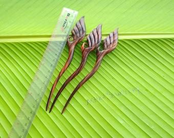 Hair Stick Wood,  1 Prong , Hair Pins, Hair Fork, Hair Accessories,  Handmade,  Jewelry