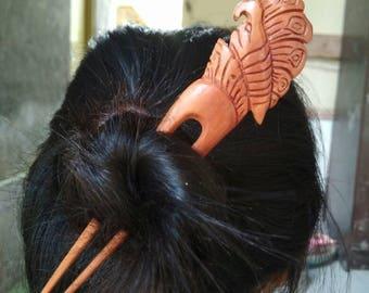 Hair stick wood hair fork Hairpin Jewelry Wood organic