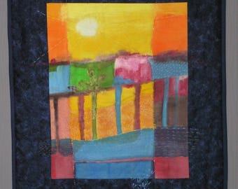 Small landscape quilt