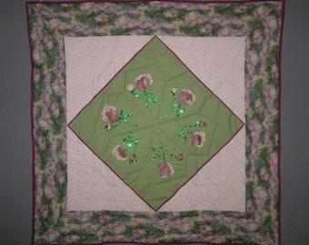 Medium pink patchwork