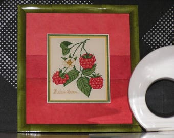 Red Raspberry painting