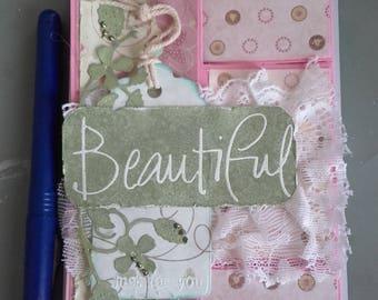 """""""Beautiful"""" romantic card"""