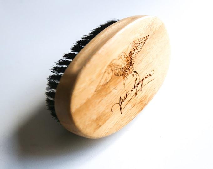 Bamboo Boar Bristle Beard Brush