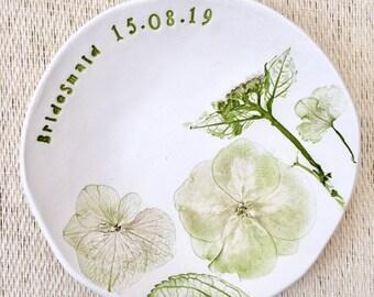 Personalised trinket dish