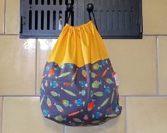 Backpack light - fish