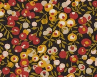 Liberty of London fabrics, Wiltshire, rust ochre - 25 cm x 136 cm