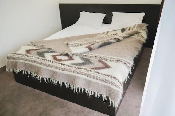 ab07ce3dfe Weighted Blanket King Wool Blanket Scandinavian Design Wool | Etsy