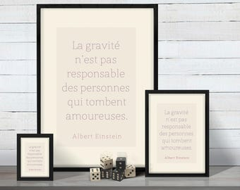 "Posters ""Quotes"" - 3 sizes to download and print"