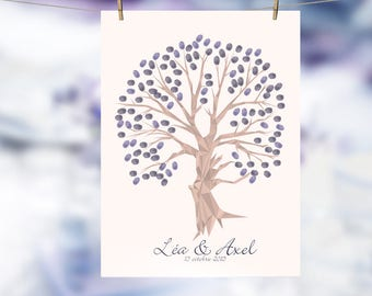 Tree prints wedding or anniversary/60x80cm/120-140 prints