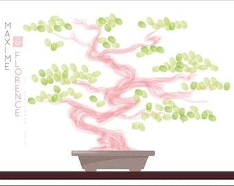 Bonsai (Bankan) wedding prints / 80x60cm / 120-140 prints