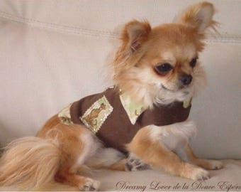Jacket for small dog - Chihuahua Scooby T22 (XS)