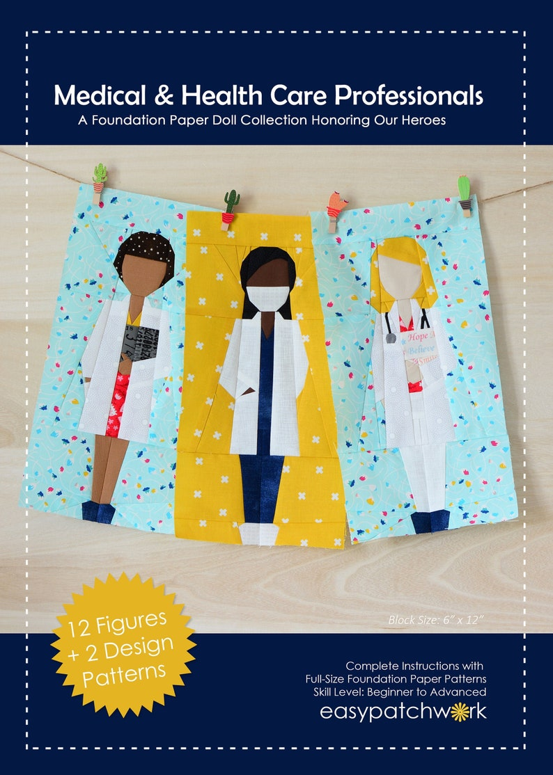 Medical and Health Care Professionals  FPP Doll Collection image 0