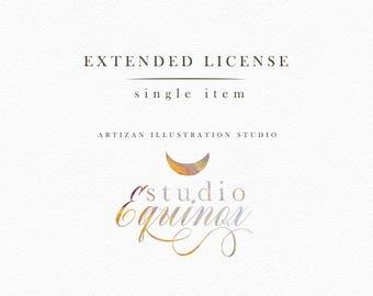 Extended License : StudioEquinox - Single item license