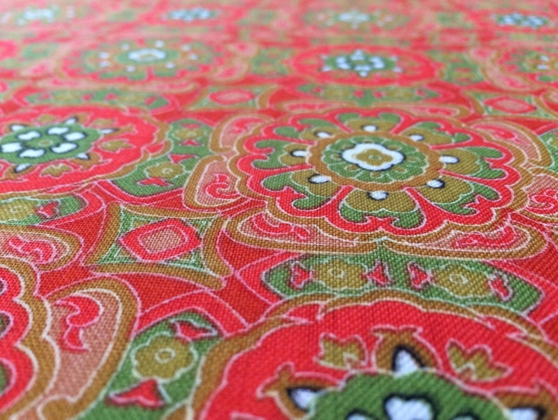 Japanese brown silk kimono fabric sold by the metre Japan import width 36cm