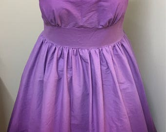 Boatneck rockabilly syle dress