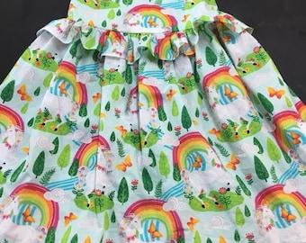 Ruffled unicorn dress