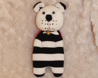 Charming Teddy bear made with a sock