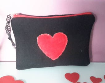 "Collection ""Valentine"" heart pocket."