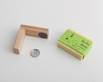 Lot Wooden Magnetic Soap Door - Handmade Soap