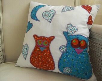 Scarlett OWL cushion