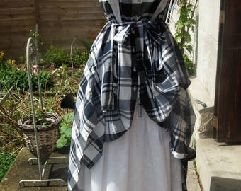 large Navy creole mother dress