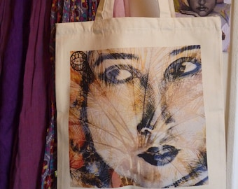 "Canvas bag ""Sun"" bag """