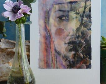 Photo art on canvas