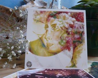 """""""Fuego"""" postcard"""