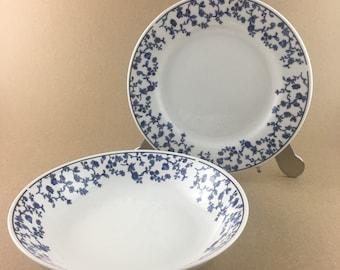 Toile dinnerware   Etsy
