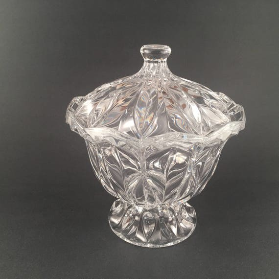 Cristal Darques France.Vintage Unused Cristal D Arques France Calliope Footed Etsy