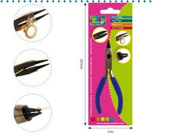 Clip jewelry 3 in 1 curved beak - v - Ref 23701/015 - Creative until the stock!