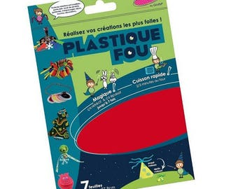 Plastic shrink coordinated x 7 sheets - 21.6 x 27.9 cm - Queen - Ref DI42264 - until the stock!