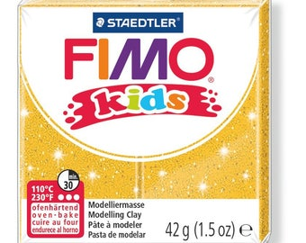 Polymer clay Kids 42 g - gold glitter N 112 - Ref 68030112 while quantities last!