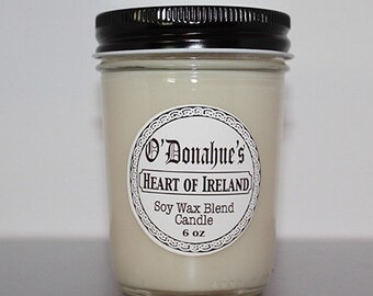 Heart of Ireland 6 oz Soy Blend Candle