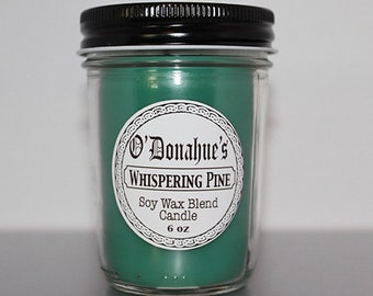 Whispering Pine 6 oz Soy Blend Candle