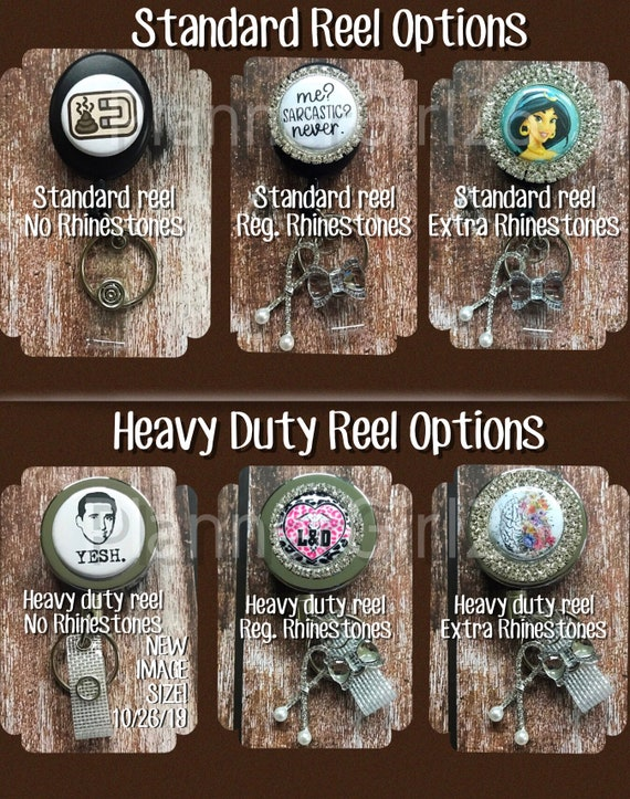 Retractable Badge Reel Name Tag ID Pull Clip Holder Lanyard Chicago Blackhawks