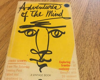1961 The Saturday Evening Post Book Adventures of the Mind