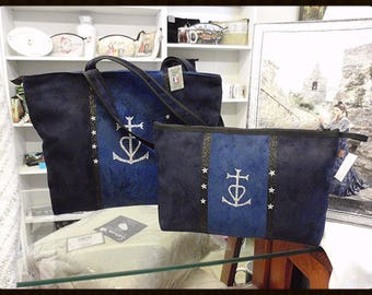 BAG and pouch Camargue murielm Camargue fabrics, craft, luggage, leather, Provence and Camargue